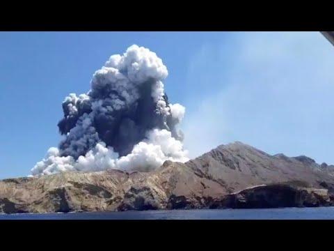 Nouvelle-Zélande: l'éruption d'un volcan fait plusieurs morts