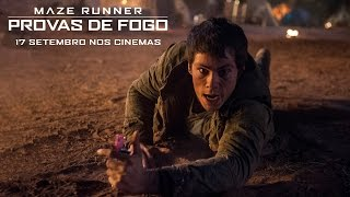 Maze Runner: Provas de Fogo | TV Spot 1 [HD] | 20th Century FOX Portugal, phim chieu rap 2015, phim rap hay 2015, phim rap hot nhat 2015