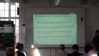 Pt 1: UCL-Energy Seminar: 'Feeding The Leviathan - People, Energy And Time', Mark Barrett, UCL