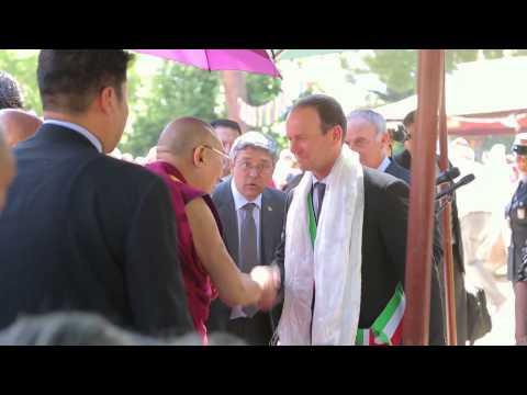 VPR martedì arrivo Dalai Lama music 1