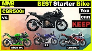 9. BEST Starter Motorcycle You Can KEEP (2016) | Honda CBR500r Review vs Competition