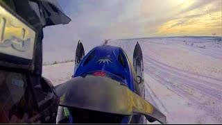 10. Hill Riding with a 2006 Ski Doo Summit 600 HO SDI