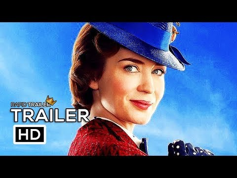 MARY POPPINS RETURNS Official Trailer Teaser (2018) Emily Blunt Disney Movie HD