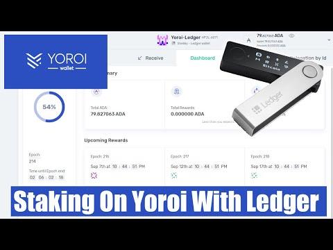Yoroi Wallet Staking Tutorial - Staking Cardano Using Ledger Nano