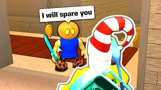 FRIENDS with the Murderer in Roblox Murder Mystery 2