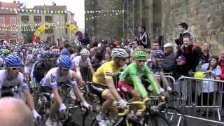 Issoire France  City new picture : Départ de l'étape Issoire-St-Flour du Tour de France 2011