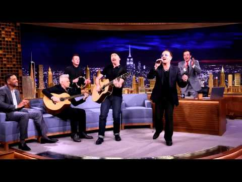 U2 sings Ordinary Love (Acoustic) for Jimmy Fallon at The Tonight Show