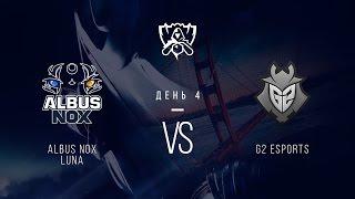 ANoX vs G2, game 1