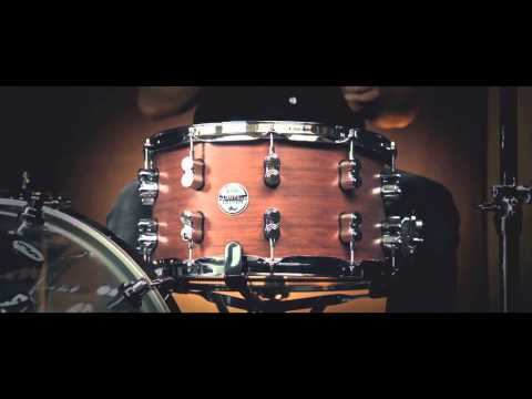 PDP 14x8 Bubinga/Maple Ltd Edition 18 Ply Snare Drum