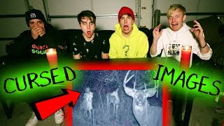 REACTING TO CURSED IMAGES & VIDEOS (scary)