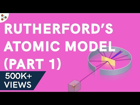 Rutherford's Atomic Model – Part 1 - CBSE 9