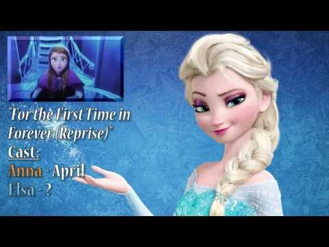 "SING AS ELSA! - ""For The First Time In Forever (Reprise)"" With PurplyWater"