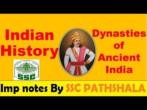 Dynasties of ANCIENT INDIA    SSC PATHSHALA