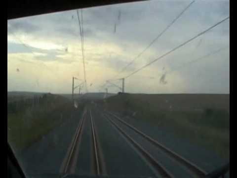 en cabine du TGV paris-strasbourg