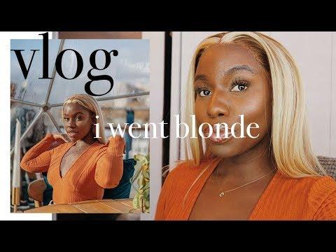 Hairdresser - VLOG: I WENT BLONDE AND PEOPLE STARTED POINTING