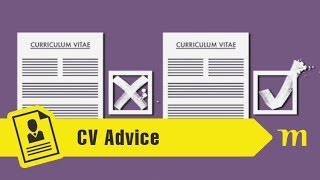 Our tips on how to write a CV will give you the basic elements to make your application easy to read.
