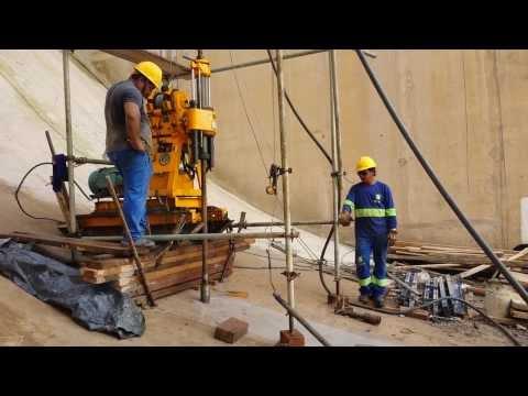 Sondagem Rotativa Criciúma - Sondagem Usina Hidrelétrica Ferreira Gomes - AM.