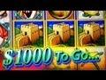 $1000 Cash out Great Wall Bonus - BIG WIN 5c WMS Video Slots
