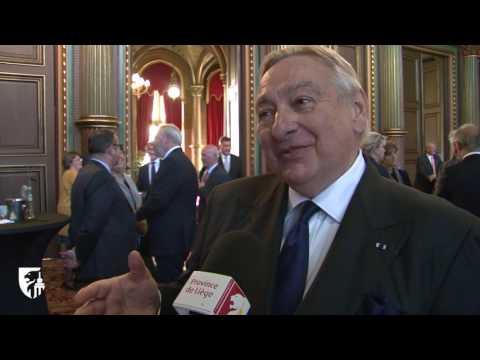 Paul-François Vranken, nouvel ambassadeur de la Province