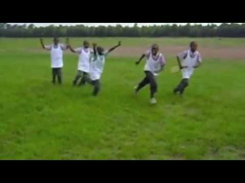 acro31 - A group of Kenyan students re-enact Bill Buckner's error leading to the Mets winning run in Game 6 of the 1986 World Series. The students were interested in ...