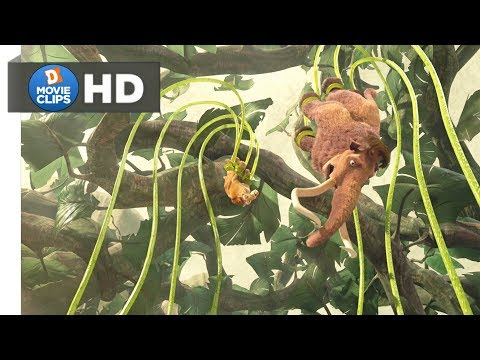 Ice Age 3 Hindi (09/18) Manny & Diego In Trouble Scene MovieClips