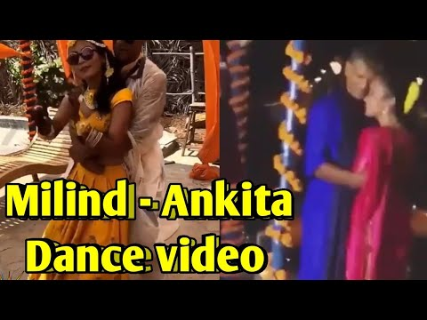 Milind Soman and Ankita Konwar wedding Dance Video