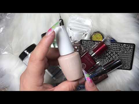 Modelos de uñas - Pequeña #Compra de Cositas Para #Uñas en #Aliexpress y Mi Tienda Local