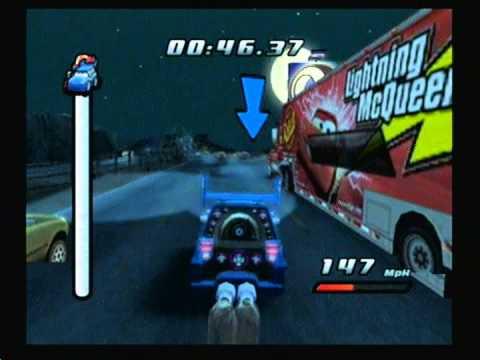 cars gamecube cheats