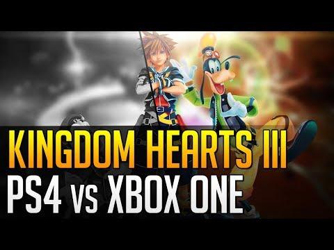 Kingdom Hearts III: versioni PS4 e Xbox One a confronto