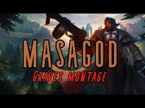 SEASON 10 GRAVES MONTAGE | MASAGOD | League of Legends