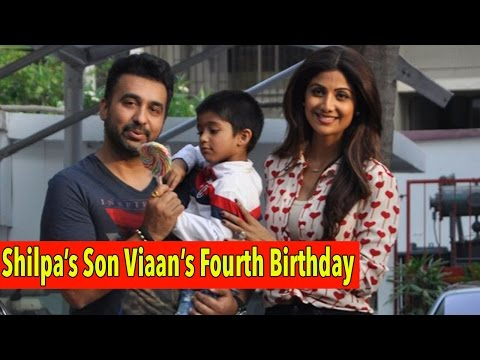 Bollywood Star Kids At Shilpa Shetty's Son Viaan