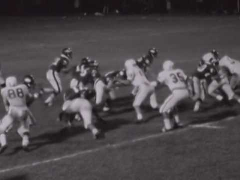 1969 Football Jackson High Schoool vs Gordon