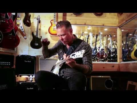 center - James Hetfield, the man himself, sat down with us at Guitar Center in San Francisco. In the small room, he shared stories about becoming a musician, rising t...