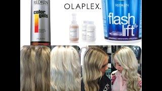Baby Lights + Olaplex +Blonde Tutorial | PART1| - YouTube