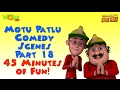 foto Motu Patlu Comedy Compilation - Part 18 - Motu Patlu Compilation- As seen on Nickelodeon Borwap
