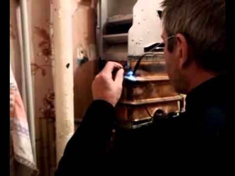 Пайка радиатора газовой колонки своими руками