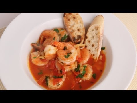 Shrimp in Crazy Water Recipe - Laura Vitale - Laura in the Kitchen Episode 507