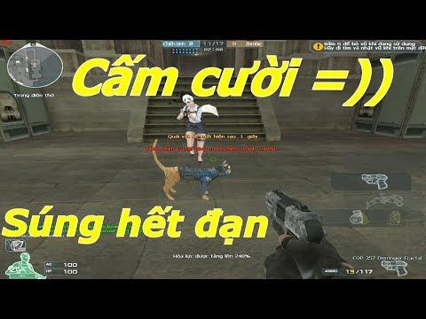 [ Bình Luận CF ] Troll đổi súng mèo ( Cat Gun ) hết đạn - Tiền Zombie v4 - Thời lượng: 10 phút.