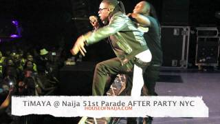 TIMAYA performing live @ ANNUAL 9JA INDEPENDENCE DAY PARADE ** AFTER PARTY **NYC
