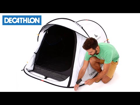 Come montare la tenda da campeggio 2 Seconds Easy Fresh & Black di Quechua | Decathlon Italia
