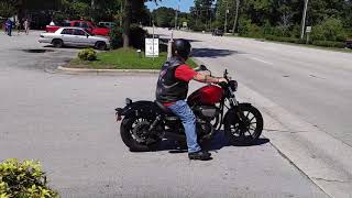 10. 2015 Yamaha Bolt With Vance & Hines Competition Slip-On Exhaust