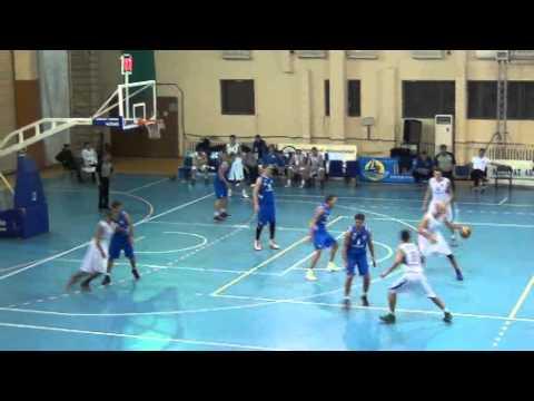 Кубок Казахстана по баскетболу 2013. 'Каспий'-'Капшагай' (60:63)