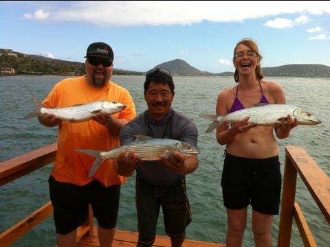 Bonefish Fishing In Hawaii – Dec 2012