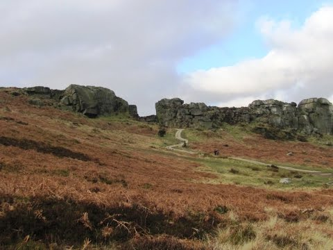 Cow and Calf Rocks and Ilkley Moor round | west yorkshire  Walks