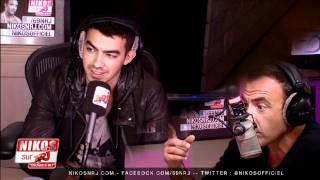 Joe Jonas - Interview Partie 1 - Le 6/9 NRJ