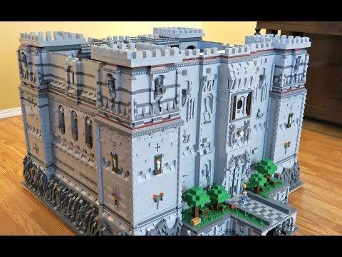 Massive Lego Minecraft Castle Is Full Of Goodies Kotaku