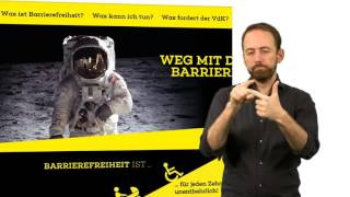 "Video: VdK-Website ""Weg mit den Barrieren!"" (Navigation)"