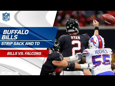 Video: Matt Ryan Gets Strip Sacked & Buffalo Recovers for the TD Return! | Bills vs. Falcons | NFL Wk 4