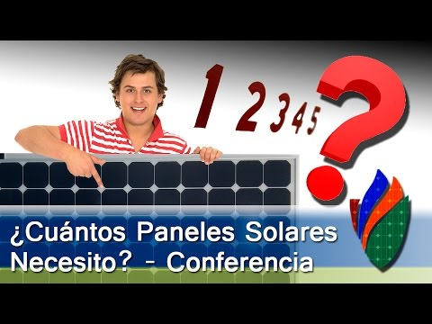 Video Conferencia – ¿Cuántos Paneles Solares Necesito?