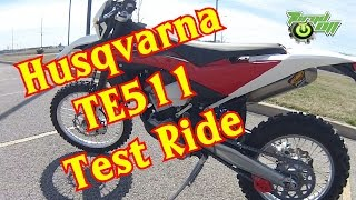 5. Husqvarna TE511 Test Ride.